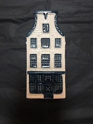 KLM House No. 23 - Blue Delft House - Sealed but empty