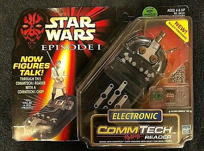 1998 Star Wars Electronic Com-Tech Reader Hasbro. Exclusive Commtech Chip NIP