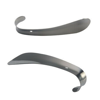 Stainless Steel Shoes Lifter Accessories Wearing Tool Pull Shoehorn Convenient