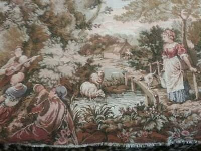 Collectable old woven Tapestry in autumn tones