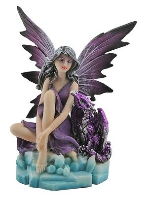 Ice Fairy with Dragon - RRP $25.95
