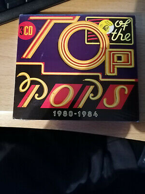 Top Of The Pops 1980-1984, Various Artists, 3 Discs New & Sealed