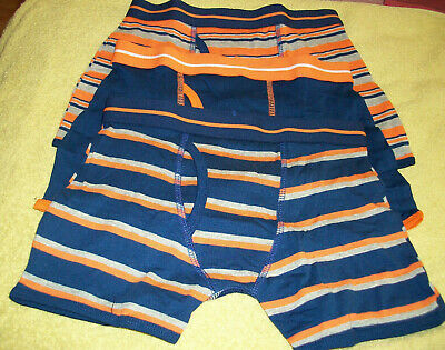 Three pack boys trunk fit boxer shorts briefs / Underpants age 7-8 years