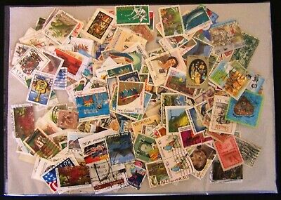 Stamps On & Off Paper ⁛ Australia & World Mixed with Faults