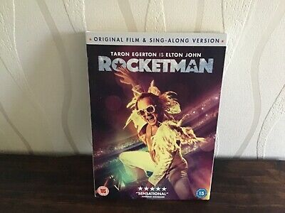Elton John /Rocketman DVD - excellent condition