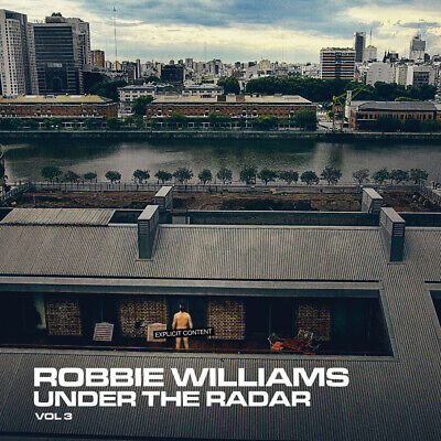 Parche imprimido /Iron on patch, Espaldera /- Robbie Williams, Under The Radar