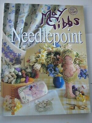 May Gibbs Snugglepot Blossom Babies Gum flower Needlepoint book Tapestry Canvas