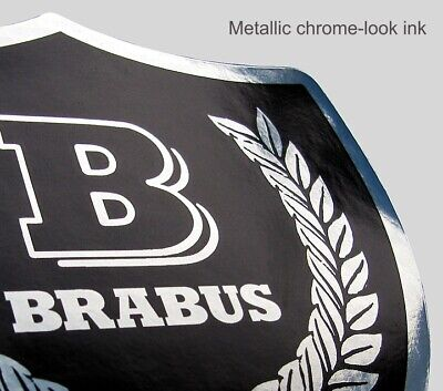 SMART Roadster fortwo 452 450 BRABUS Mercedes vector-cut decal