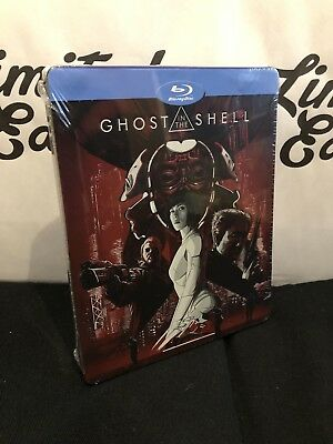 Ghost in the shell -BLU RAY-steelbook-AUDIO ita,eng,fra,spa,de-Limited edition