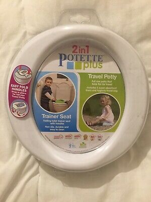 2 In 1 Potette Plus, travel potty, liners included, new without tags