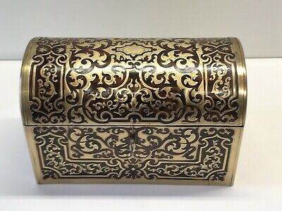 Elegant 19th Century Boulle Stationary/jewellery Box