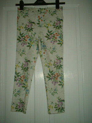 Girls Next Floral Trousers age 10