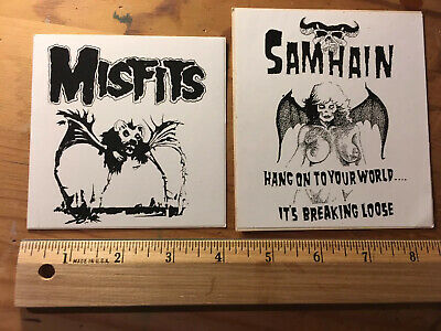 Misfits Samhain Sticker Lot Danzig Metallica