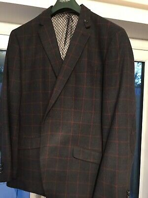 "50"" Mens Blue/Red Sport Jacket by Racing Green"