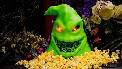 Disney Mickeys Not So Scary Halloween Party Oogie Boogie Lite Up Popcorn Bucket