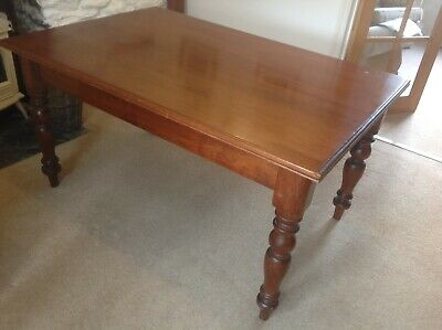 Victorian Small Mahogany Dining Table Late C19th (Antique)