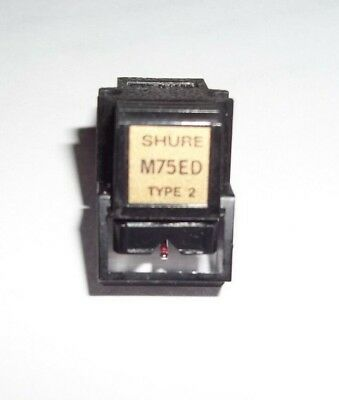Shure M75Ed Cartridge With New Evg Stylus