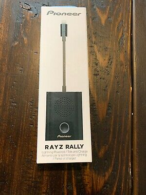 Pioneer Rayz Rally Lightning-Powered Conference Speaker - Space Gray XW-LTS5(S)C