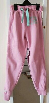 Girls pink tracksuit bottoms/trousers jogging bottoms lounge  wear 10 years NEXT