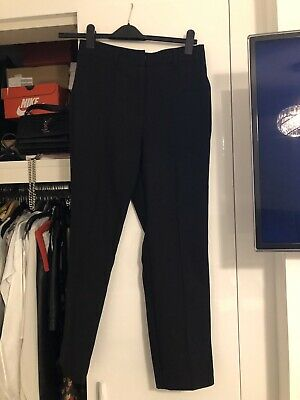 Asos BNWT Petite Black Trousers 10 Smart High Waisted