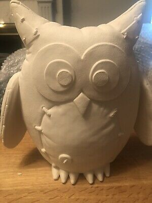 Bisque owl Paint Your Own