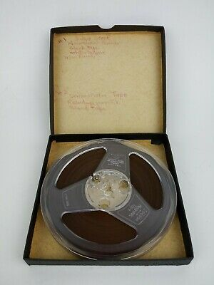 Scotch Brand Magnetic Reel to Reel Tape 3M Company Pre Owned Made in USA