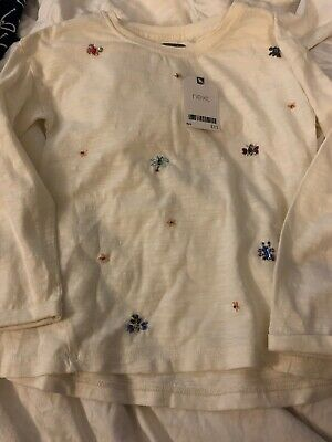 Brand New With Tags Next Top Age 6 (5-6) Girls Christmasy