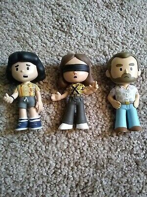 Lot of 3 Funko Stranger Things Mystery Minis - Mike, Eleven and Hopper