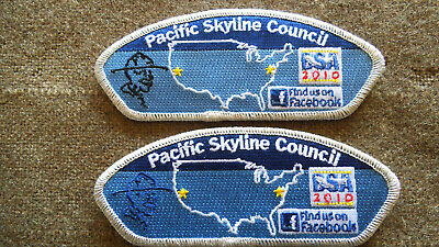 Bucks County Council 2010 National Jamboree CSPs and Jacket Patch set