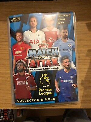Match Attax 2018/19 Full Set Of All 390 Cards In A Binder Mint + Limited Edition