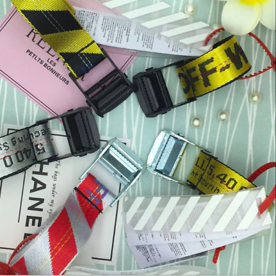 OFF WHITE Tie Down Big IRON Head Industrial Belt 200cm UK SELLER - Fast Delivery