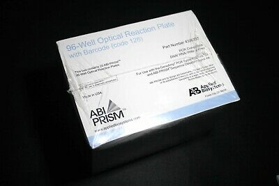 Applied Biosystems™ ABI PRISM™ MicroAmp Optical 96-Well Reaction Plates (UK) LAB
