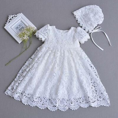 Lace Baptism Gown Girls Lace Christening Gowns Baby Girl Baptismal & Blessing