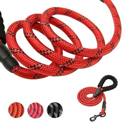 5ft Climbing Rope Dog Leash Heavy Duty Standard Braided for Large Dogs Walking