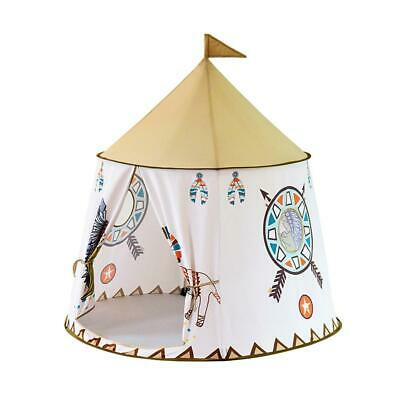 Portable Kids Teepee Tent Princess Castle Baby Indoor Game Playing House  WF