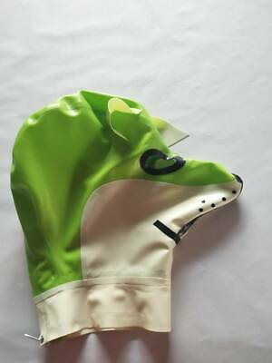 Latex Mask Cosplay Realistic Sexy Rubber Maske white&Green Masque Masquerade