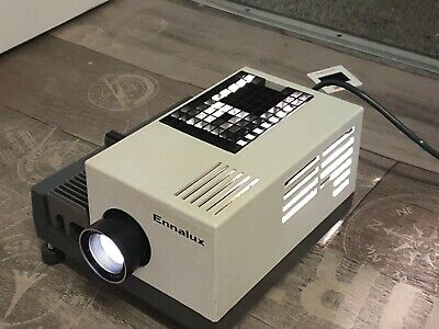 Enna Werk Type 8002 Ennalux Slide Projector With Some Slides