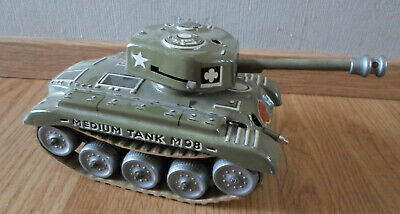Gama Panzer Medium Tank M98, schiesst, Made in Western-Germany