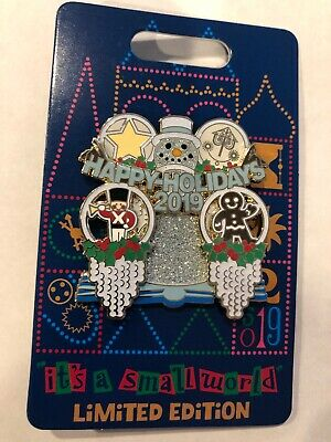 Disney Parks Pin (It's a small world - Holiday 2019) LE 3000