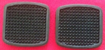 2 Pedal Rubbers Brake /& Clutch Pair Ford Escort MK 1