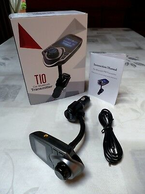 BLUETOOTH ➤ Kit Mains libres Transmetteur radio FM Chargeur Smartphone IPhone