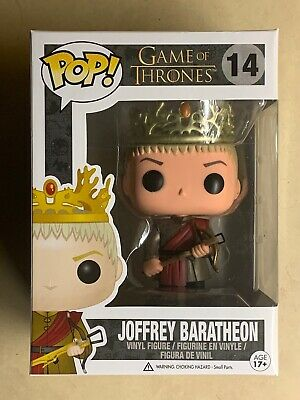 Funko POP Retired/Vaulted Joffrey Baratheon Game of Thrones Vinyl Figure #14