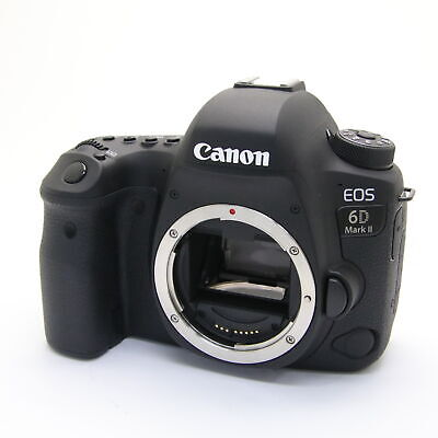 Canon EOS 6D Mark II 26.2MP Full Frame Digital SLR Camera Body -Near Mint- #50
