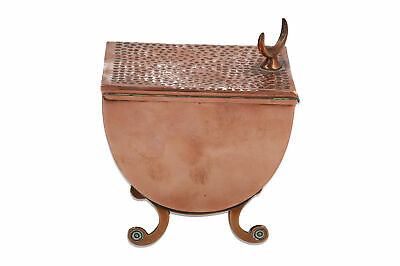 An English copper Tea Caddy by J Picard & Co Regent Street Classical Antique