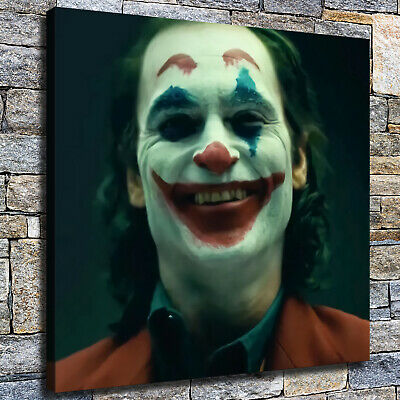 """12""""x12"""" Laughing clown Picture HD photo Canvas Home Decor Room Wall Art Painting"""