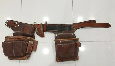 Occidental Leather 9855 Adjust-to-Fit Fat Lip Tool Belt Set, Cafe, Right Hand