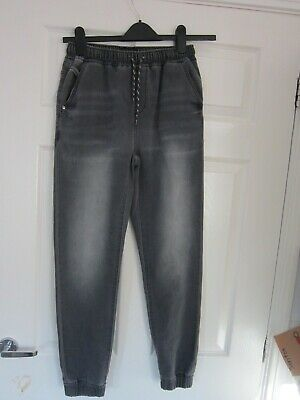 Boys next jean jogger trousers age 14 years