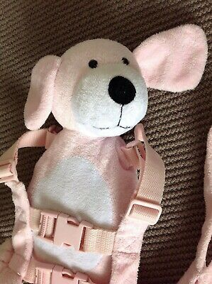 Pre-Owned Playette Harness Buddy - Pink Puppy