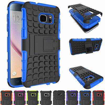 Hybrid Rugged Stand Phone Case Cover For Samsung Galaxy Note 7 5 4 S7 S6 J7 J5
