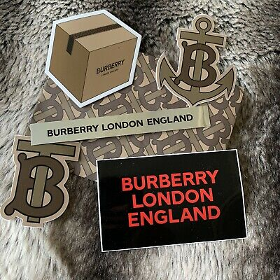 Rare 2019 Vip Gift Burberry Stickers + Envelope